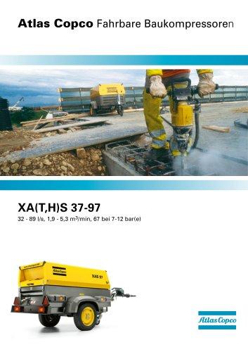 XA(T,H)S 37-97 32 - 89 l/s, 1,9 - 5,3 m3/min, 67 bei 7-12 bar(e)