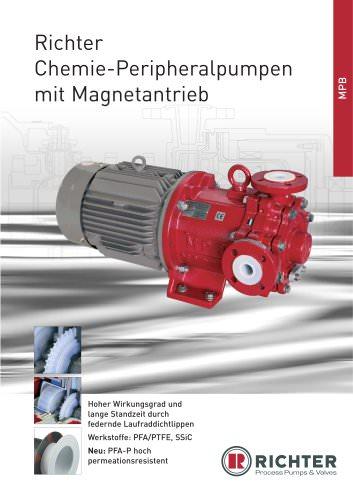 Chemie-Peripheralpumpen mit Magnetantrieb