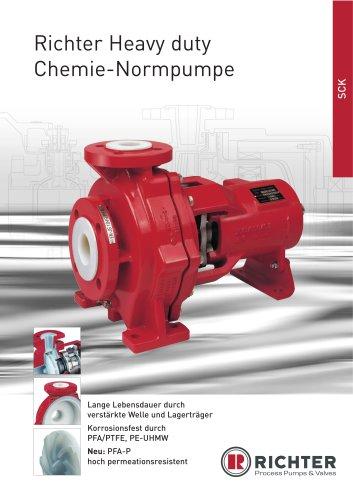 Gleitringdichtungs-Pumpe SCK, SCK Gruppe 0