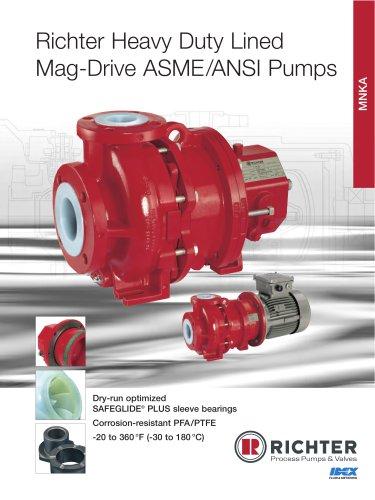 Magnetic Drive Pump  MNKA, MNKA-B