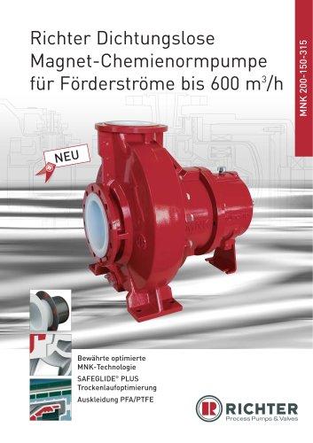 Magnetkupplungs-Pumpe MNK 200-150-315