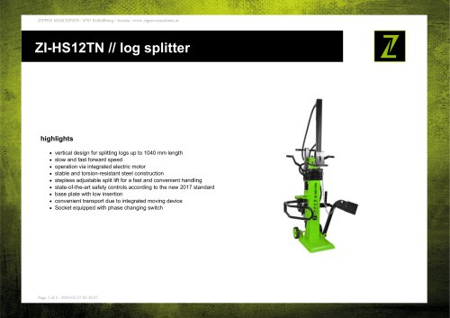 ZI-HS12TN