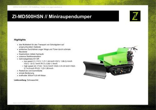 ZI-MD500HSN