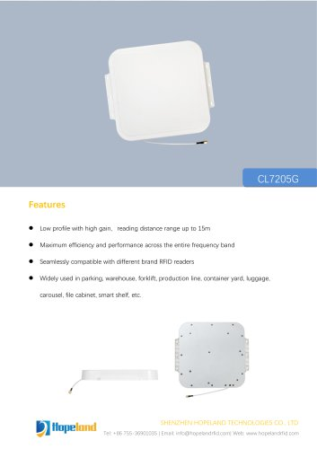 CL7205G 9dBi antenna_datasheet