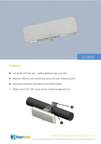CL7205L vehicle management antenna_datasheet
