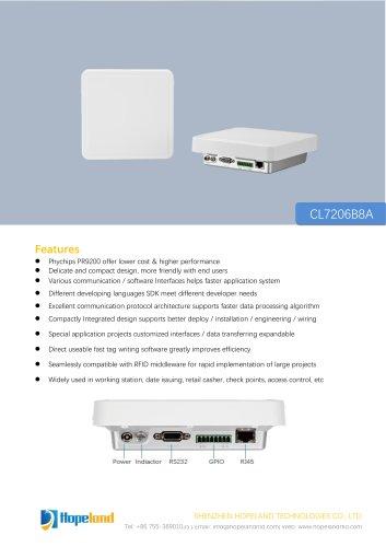 CL7206B8A Mini Integrated Reader_datasheet