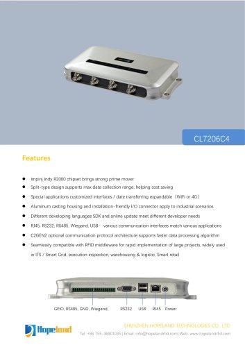 CL7206C4 new Four-port Reader_datasheet