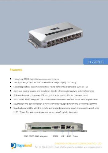 CL7206C8 new Eight-port Reader_datasheet