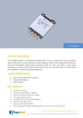 CL7206D4 4-port RFID Module_datasheet