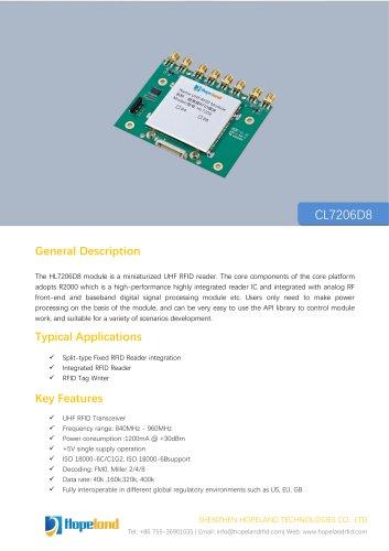 CL7206D8 8-port RFID Module_datasheet