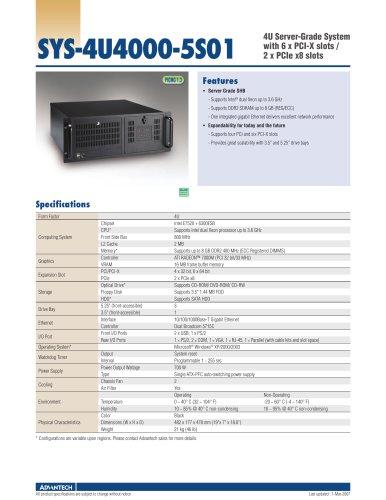 SYS-4U4000-5S01