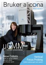 Alicona FOCUSvariation Magazin, 9. deutsche Ausgabe