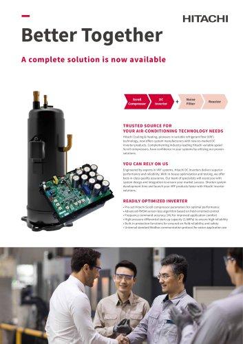 Inverter controller for Scroll Compressor