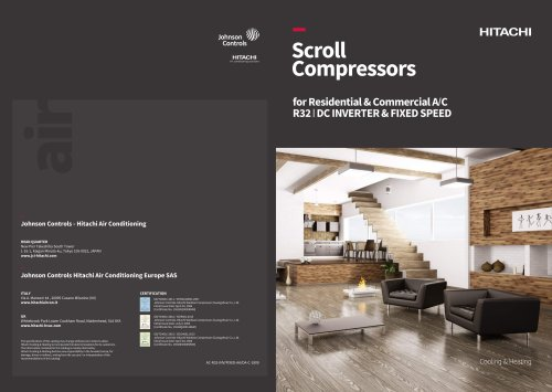 Scroll Compressors for Residential & Commercial A/C