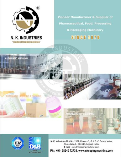 N.K. INDUSTRIES ALL PRODUCT cataloge 1