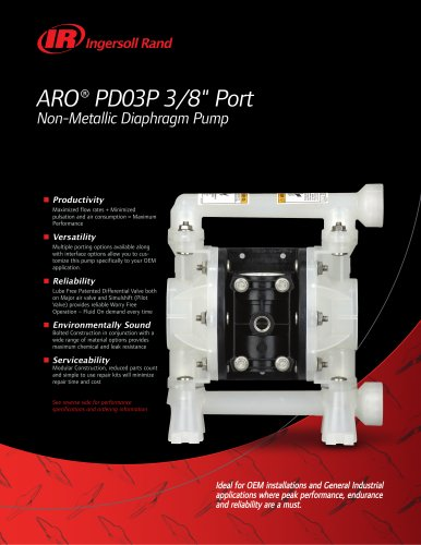 "3/8"" - Ports PD0 Series Flier 0606-P"