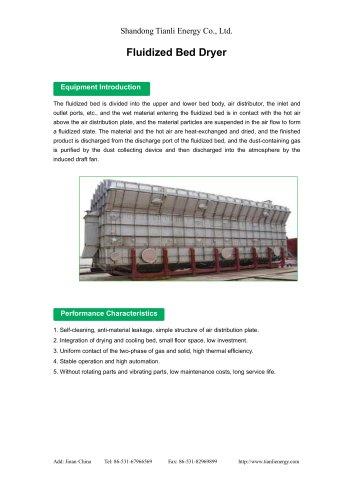 Tianli/Fluidized Bed Dryer