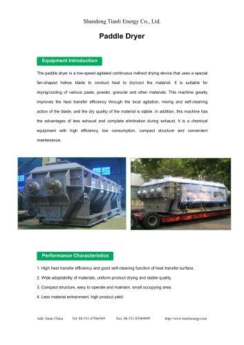 Tianli/Paddle Dryer