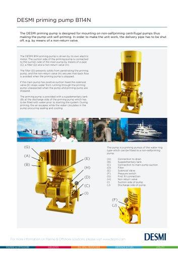 DESMI Priming Pump B114