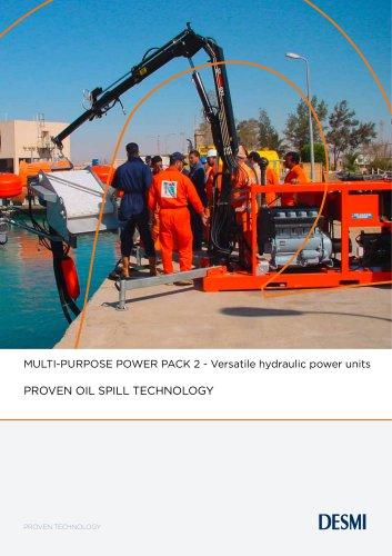 MULTI-PURPOSE POWER PACK 2 - Versatile hydraulic power units