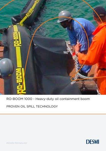 RO-BOOM 1000 - Heavy-duty oil containment boom