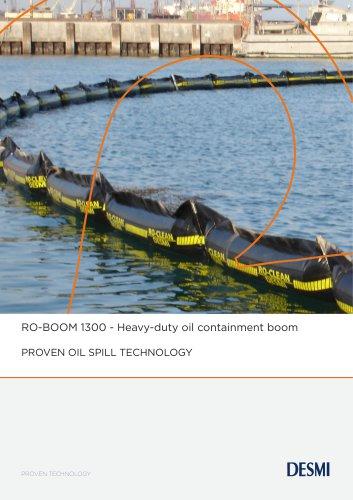 RO-BOOM 1300 - Heavy-duty oil containment boom