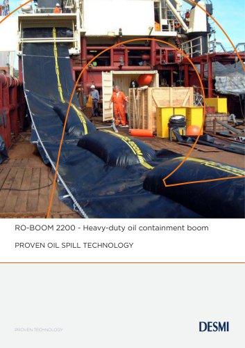 RO-BOOM 2200 - Heavy-duty oil containment boom