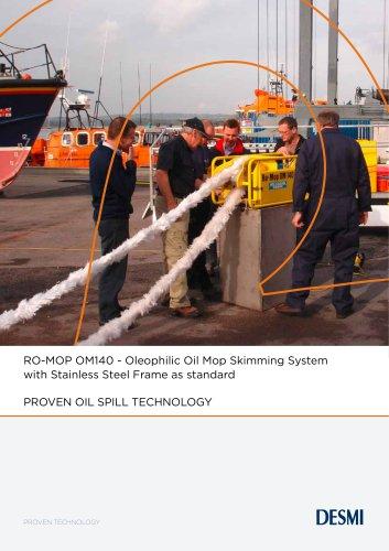 RO-MOP OM140 - Oleophilic Oil Mop Skimming System