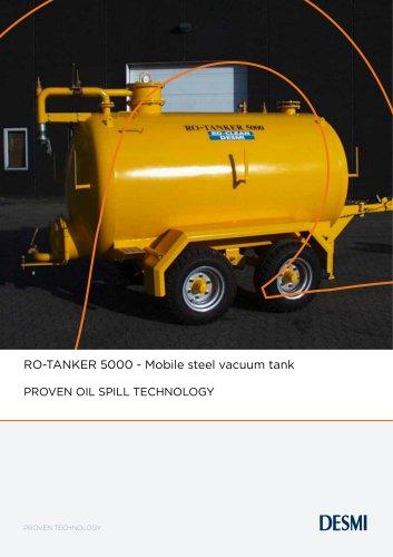 RO-TANKER 5000 - Mobile steel vacuum tank