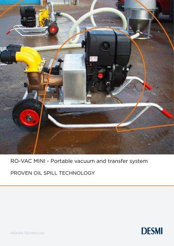 RO-VAC MINI - Portable vacuum and transfer system