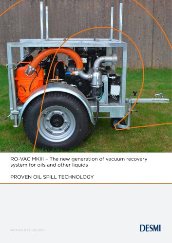 RO-VAC MKII - A powerful vacuum system for oils and liquids