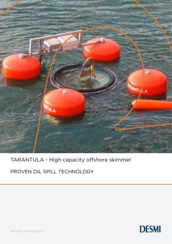 TARANTULA - High capacity offshore skimmer