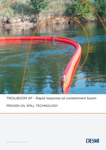 TROILBOOM AF - Rapid response oil containment boom
