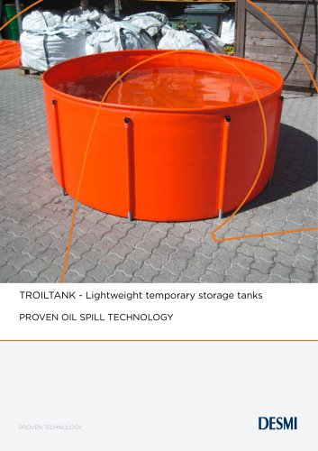 TROILTANK - Lightweight temporary storage tanks