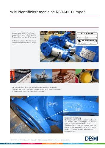 Wie identifiziert man eine ROTAN®-Pumpe