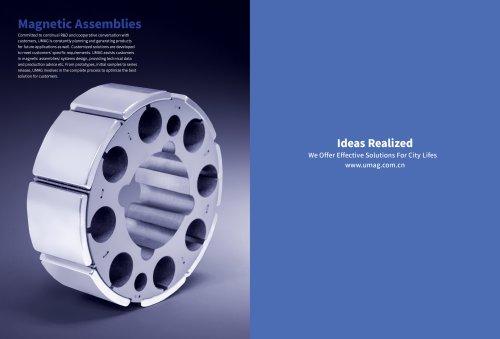UMAG NdFeB Magnetic assembly rotor