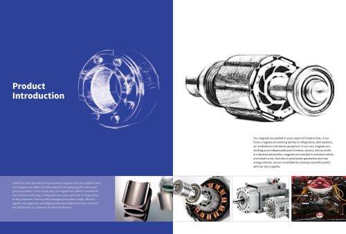 UMAG Permanent Magnet motor NdFeB