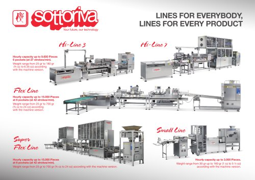 LINES FOR EVERYBODY, LINES FOR EVERY PRODUCT