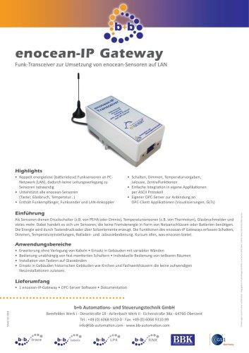 enocean IP Gateway (Steckergehäuse)