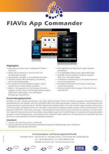 FIAVis App Commander (Lizenz) KEY