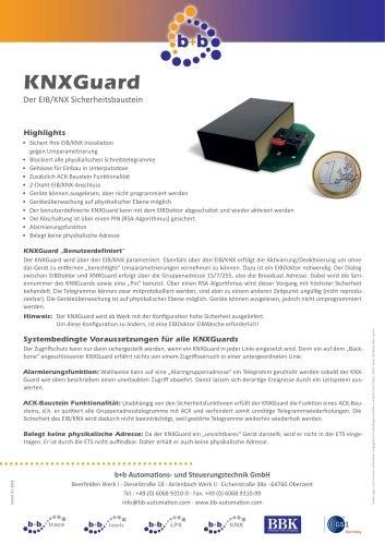 KNXGuard benutzerdefiniert