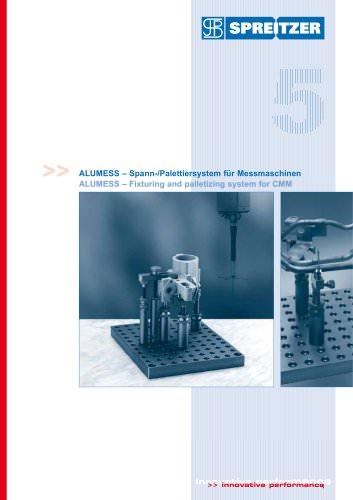 ALUMESS - 'Spann- und Palettiersystem für Messmaschinen