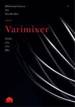 Varimixer – Profilbroschüre