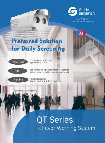 Guide QT Series IR Fever Warning System