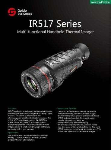Thermal imaging system GUIDE IR517 Series