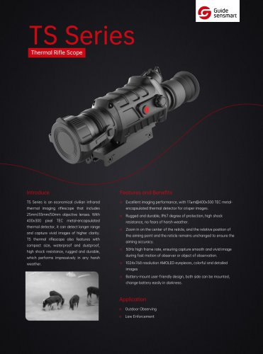 Thermal imaging system GUIDE TS Series