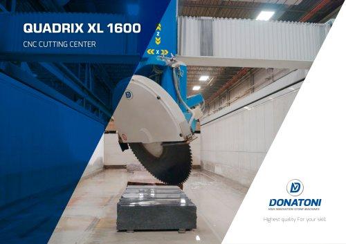 QUADRIX XL 1600 CNC CUTTING CENTER