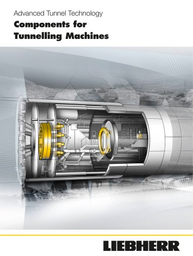Components for Tunnelling Machines