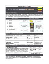 WD-40® Specialist® SPRAY & STAY GEL LUBRICANT