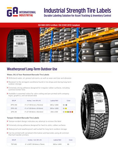 Tire Labels